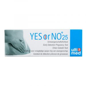 YES or NO - Early Detection Pregnancy Test